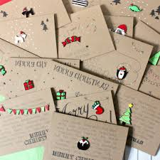 handmade christmas cards handmade christmas card pack pack of christmas cards by