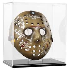 Jason Voorhees Mask Friday The 13th Jason Voorhees Cast Autographed Mask Series 1