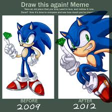 Draw It Again Meme Template - sonic drawing meme clipartxtras
