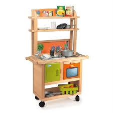 cuisine enfants en bois smoby cuisine enfant bois 26 accessoires achat vente dinette