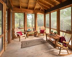 heritage home design inc screened porch rustic porch other by montana heritage home