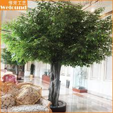 outdoor decorations garden shop indoor trees high simulation