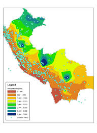 What Is A Map Legend This Is Peru U0027s Climate Map Peru Has Three Different Climate Zones