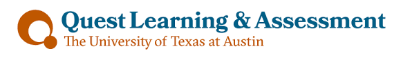 Quest Learning  amp  Assessment The University of Texas at Austin Welcome to Quest