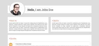 25 bootstrap resume cv templates page 3 of 3 designerslib com