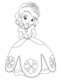 sofia coloring pages bestofcoloring