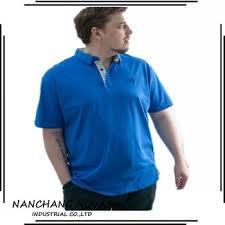polo shirts white plain custom design fat men plus size polo t