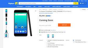 flip kart micromax yu yunique price launch flipkart availability details