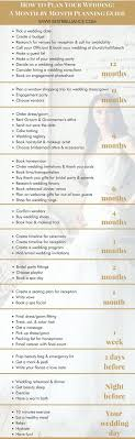 wedding planning guide how to plan your wedding a month by month planning guide