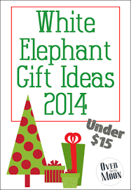 white elephant gift ideas 2014 over the big moon