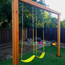image result for 6x6 post swing set kid outdoor swings