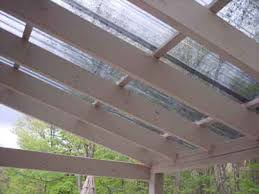 Pergola Plastic Roof by Install Plastic Roof Panels Best House Design