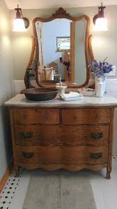 antique bathroom sinks and vanities dressers turned into vanities beautiful antique dresser turned