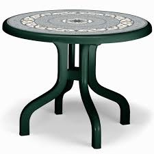 round resin patio table plastic patio tables awesome round plastic patio table with