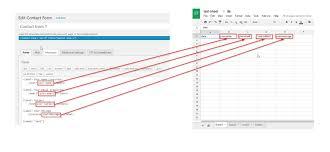 Google Spreadsheet Widget How To Configure Your Spreadsheet With Cf7 To Spreadsheet Plugin