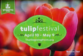 utah family activities series tulip festival at thanksgiving