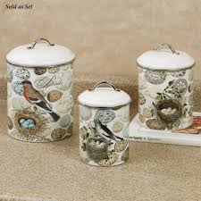 owl kitchen canisters kitchen accessories bird kitchen accessories nest and egg themed