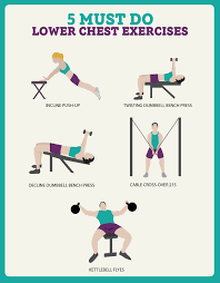 Chest Workout Dumbbells No Bench 5 Must Do Lower Chest Exercises Fitness Republic