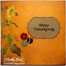 thanksgiving card sentiments cathy u0027s creative place november 2011