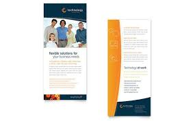 two sided brochure template sided brochure template