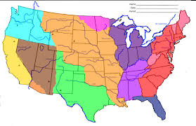 Color Map Of United States by Quia Class Page Westward Expansion