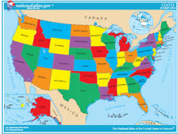 map us mexico border states map usa canada border states major tourist attractions maps