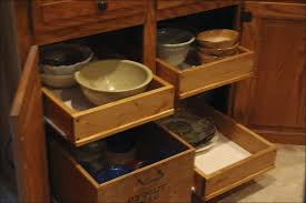 Kitchen Cabinets With Drawers That Roll Out by Kitchen Slide Out Tray Under Cabinet Pull Out Shelf Base Cabinet