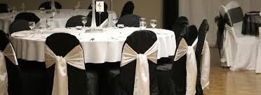 black and white chair covers p2 weddings