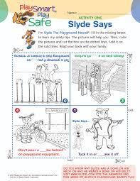playground safety activities playground safety