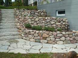 tips to build terraced retaining wall wall white marble circle