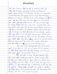 big writing paper big flock pens a letter to his family friends and fans music you can check out the full article at bluntiq