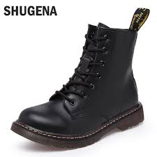 womens motorcycle boots sale leather martin boots winter warm fashion boots sale