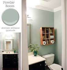 Sherwin Williams Color Of The Year 2016 Powder Room Sherwin Williams Quietude Pretty Handy All
