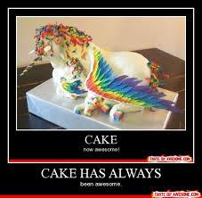 Meme Cake - cake has always funny meme poster