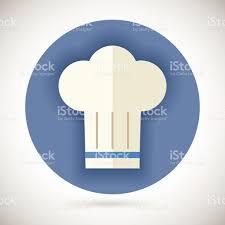 chapeau de cuisine chef cuisinier symbole icône de la cuisine de la toque sur un