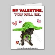 yoda valentines card praying mantis card insect offbeat for