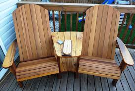 Build An Adirondack Chair Double Adirondack Chairs By Rs Woodworks Lumberjocks Com