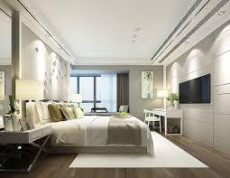 deluxe master bedroom design 03 3d model fashion