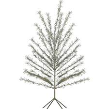 aluminum trees lights decoration