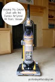 keeping my carpet clean with the eureka airspeed all floors vacuum
