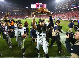 seahawks vs 49ers national media toasting richard sherman