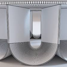 3d model roche bobois iride coffee table cgtrader