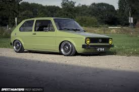 slammed volkswagen golf the simple life a well grounded golf mk1 speedhunters