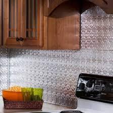 Brushed Aluminum Backsplash Color At DIY Decor Store - Aluminum backsplash