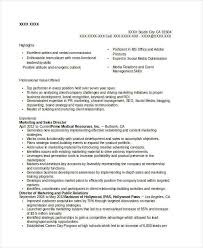 Sales And Marketing Director Resume Modern Marketing Resumes 32 Free Word Pdf Documents Download