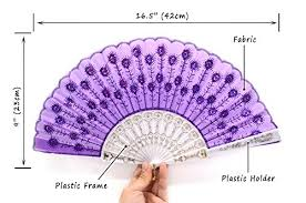 held fans bulk omytea white peacock folding held fans bulk for women