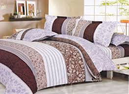 bedding geometric pattern microfiber bed cover geometric pattern