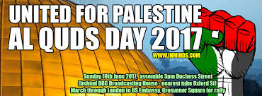 boycott israel alert 18th june 2017 al quds london