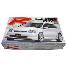 honda car models torque gt fujimi honda civic type r ep3 model kit 1 24