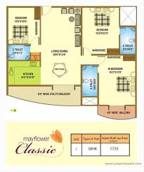mayflower floor plan mayflower classic murugesh palya bangalore apartment flat